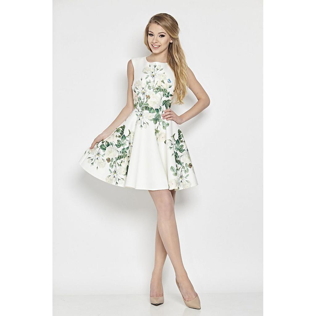 927efbe26d2c Mini cocktail φόρεμα με λουλούδια