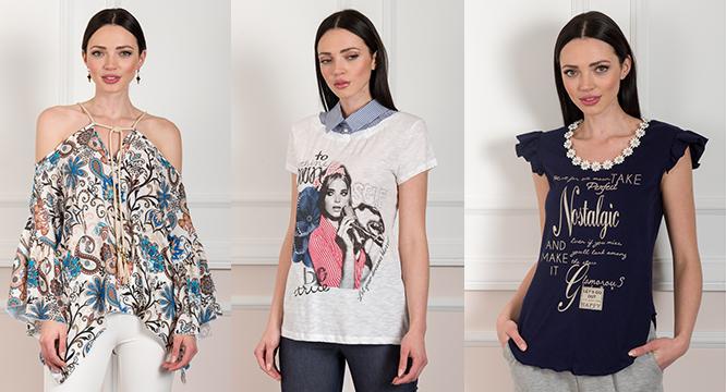 Γυναικείες μπλούζες Άνοιξη 2017