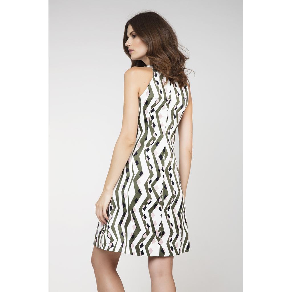 Mini αμάνικο φόρεμα σε γραμμή Α  9b574b77a66