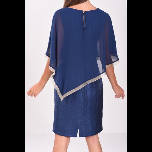 Κοντό φόρεμα σε στενή γραμμή