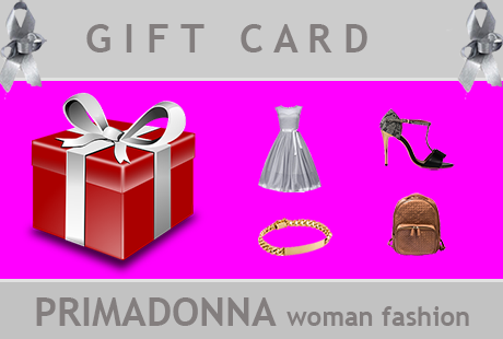 Αποκτήστε τώρα την Gift Card Primadonna