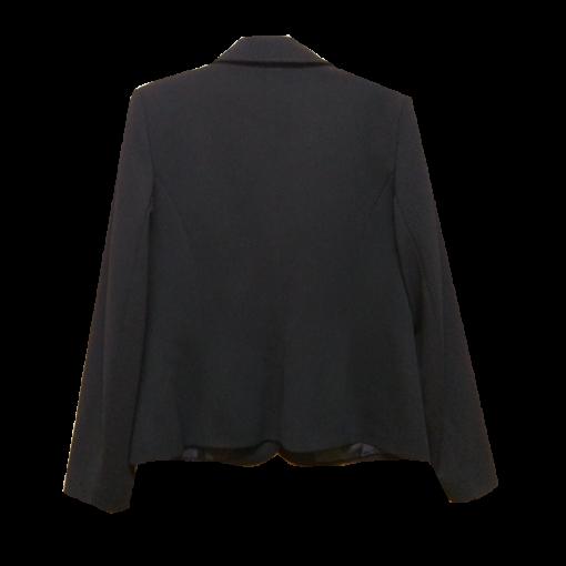 Γυναικείο σακάκι μονόχρωμο πικέ