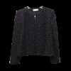 Women's jacket with round neckline