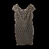 Κοντό φόρεμα με ενσωματωμένο κολιέ