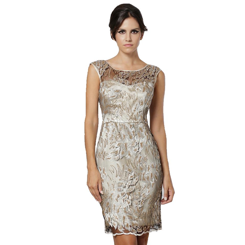 Mini φόρεμα με διαφάνεια στο μπούστο