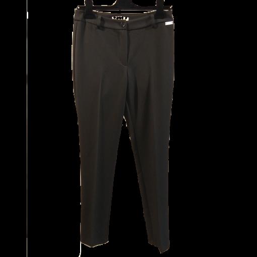 Black female cigarette pants