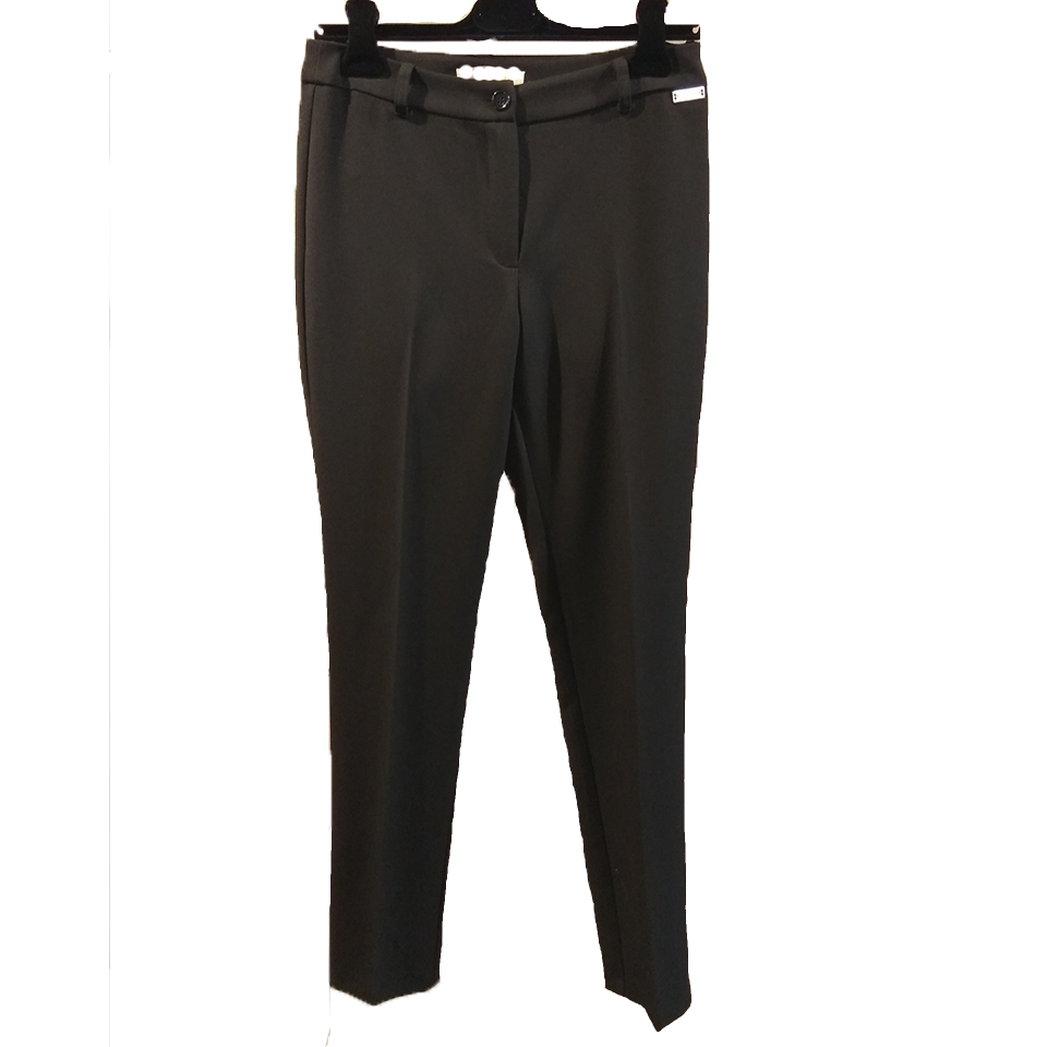 Black female cigarette pants
