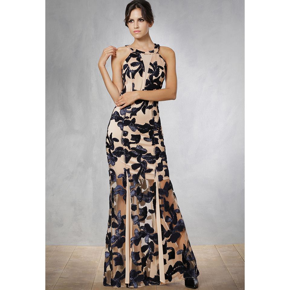 0cafeb4916eb Maxi εντυπωσιακό βραδινό φόρεμα γοργονέ