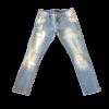 Παντελόνι jean με ξεβάματα και σκισίματα