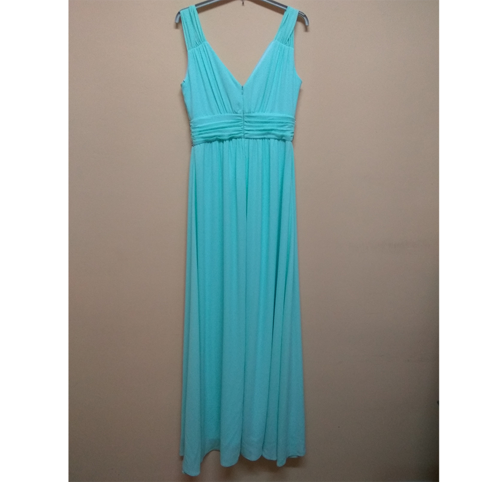 Maxi dress with opening and strass