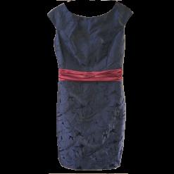 Κοντό φόρεμα σε ίσια γραμμή με δαντέλα