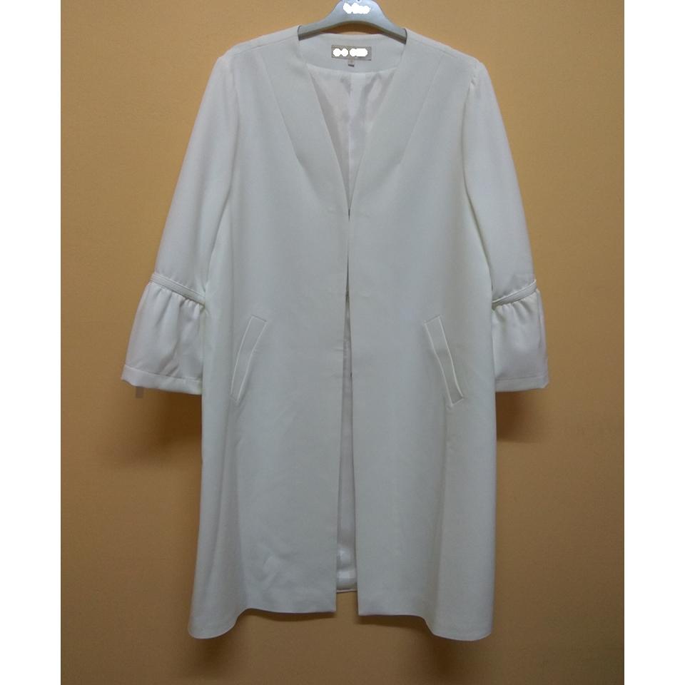 Womens white summer coat