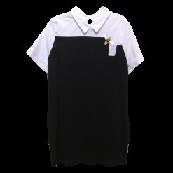 Μπλουζοφόρεμα με διακοσμητική πεταλούδα