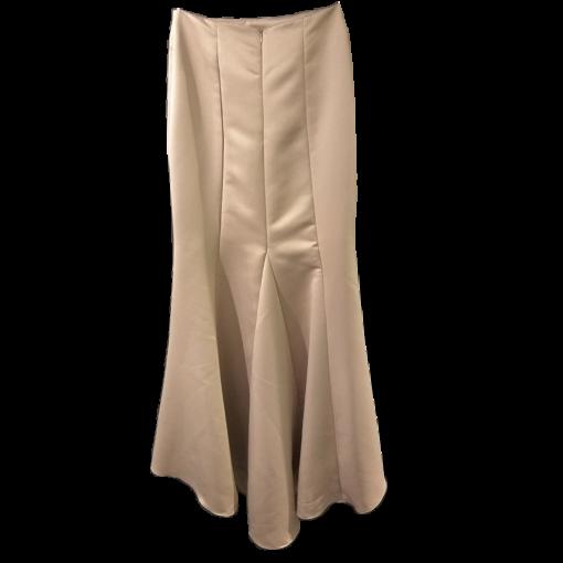 Maxi mermaid skirt with ruffles