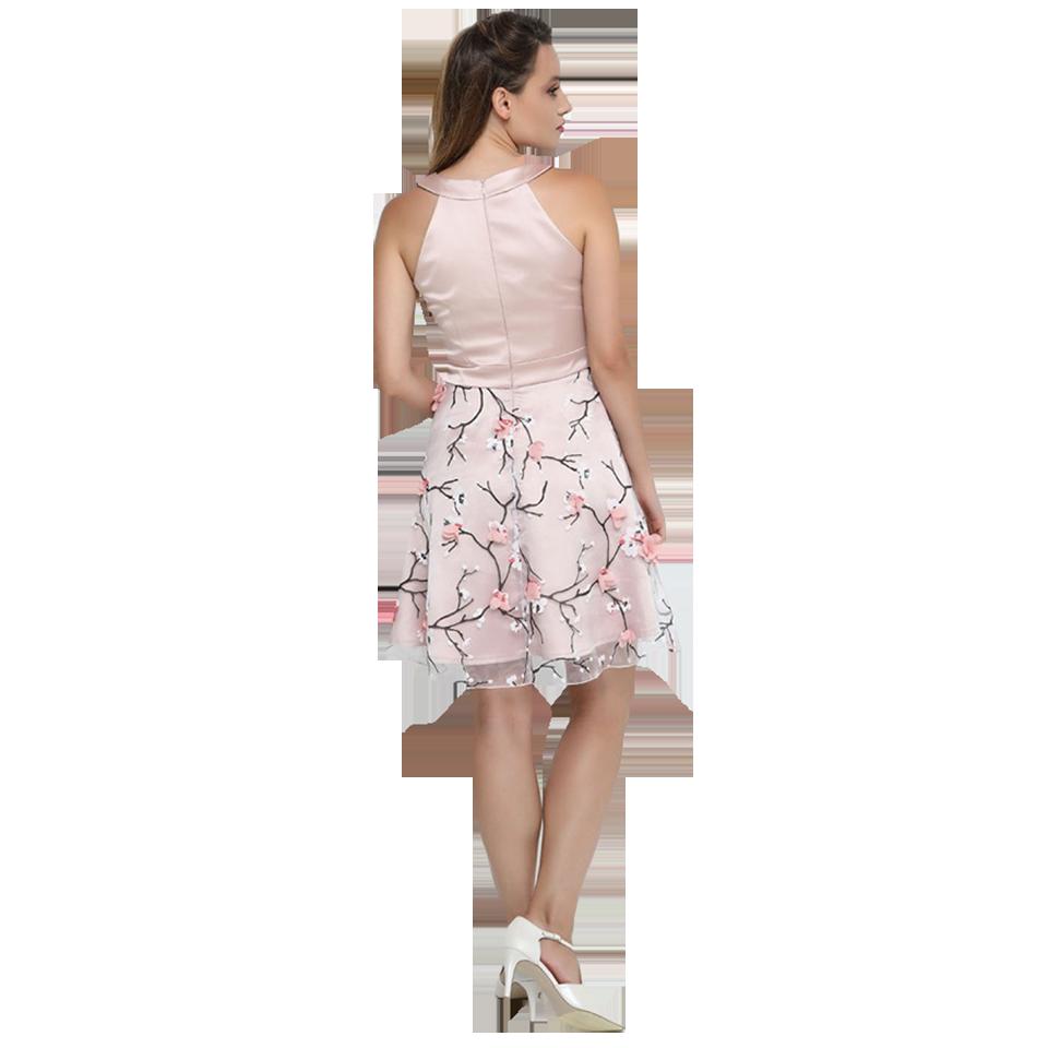 89874c8cb940 Κοντό βραδινό φόρεμα με φούστα από τούλι