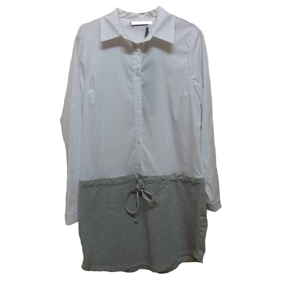 Women's shirt - collar dress