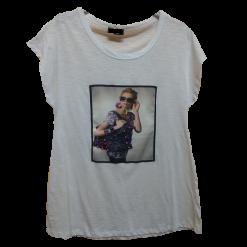 Γυναικεία βαμβακερή μπλούζα με τύπωμα
