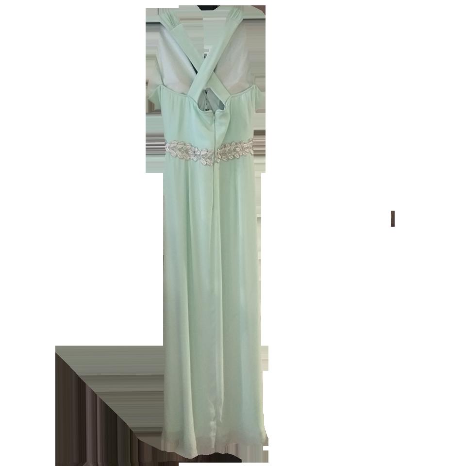 Maxi φόρεμα με χιαστί πλάτη