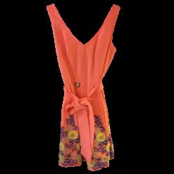 Κοντό φόρεμα με φλοράλ σχέδια