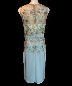 Κοντό φόρεμα με κέντημα στο πάνω μέρος