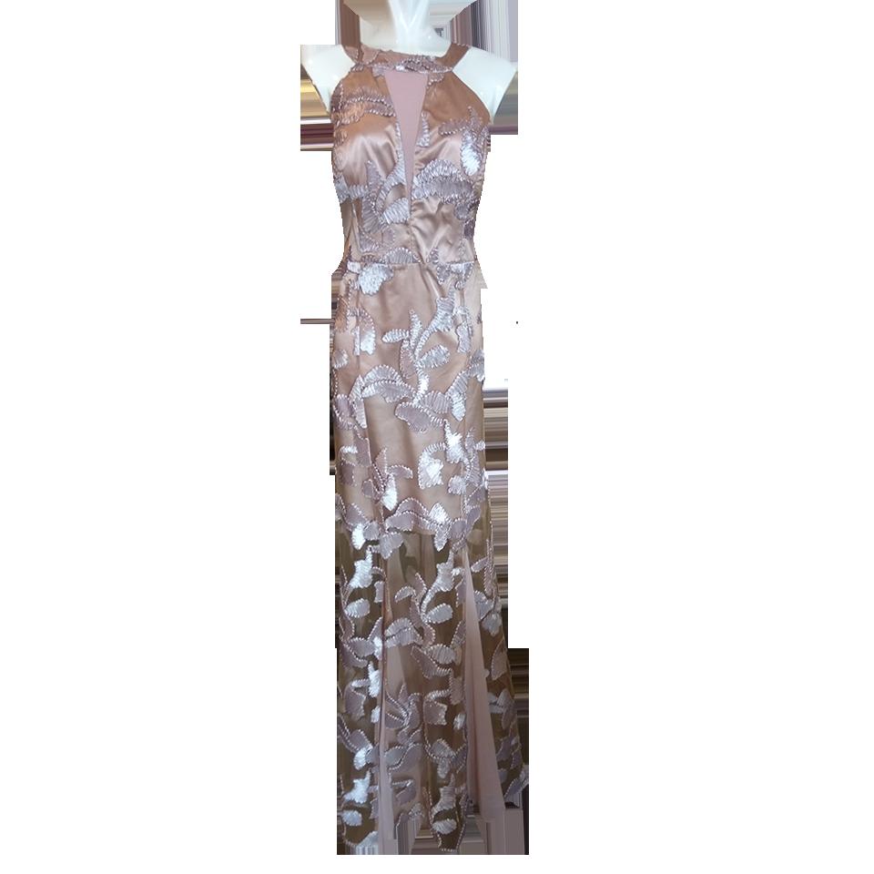 b709cf3e98cf Maxi εντυπωσιακό βραδινό φόρεμα γοργονέ