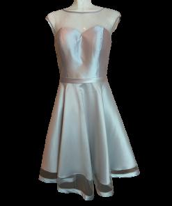Κοντό φόρεμα σε Α γραμμή με τούλι