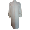 Women's white summer coat