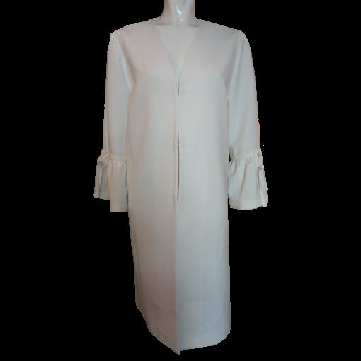 Women's white summer coat