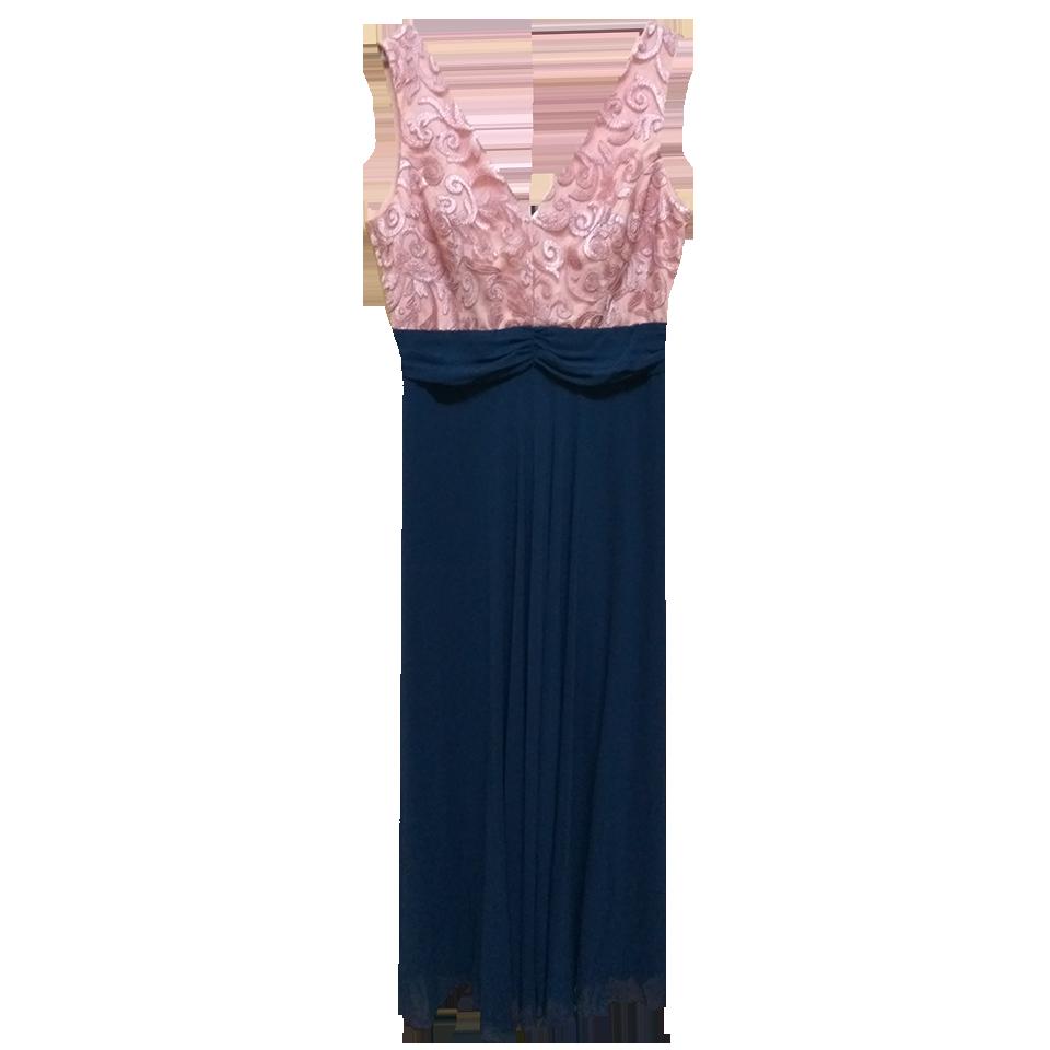 f94c4be500b Αέρινο maxi φόρεμα με μουσελίνα και δαντέλα | Primadonna.com.gr