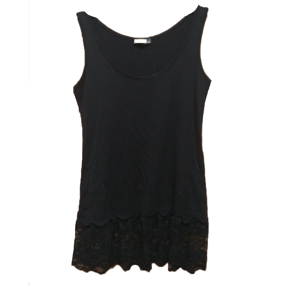 Women's viscose shirt with lace