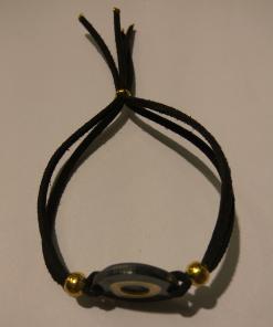 Round polyester eye bracelet