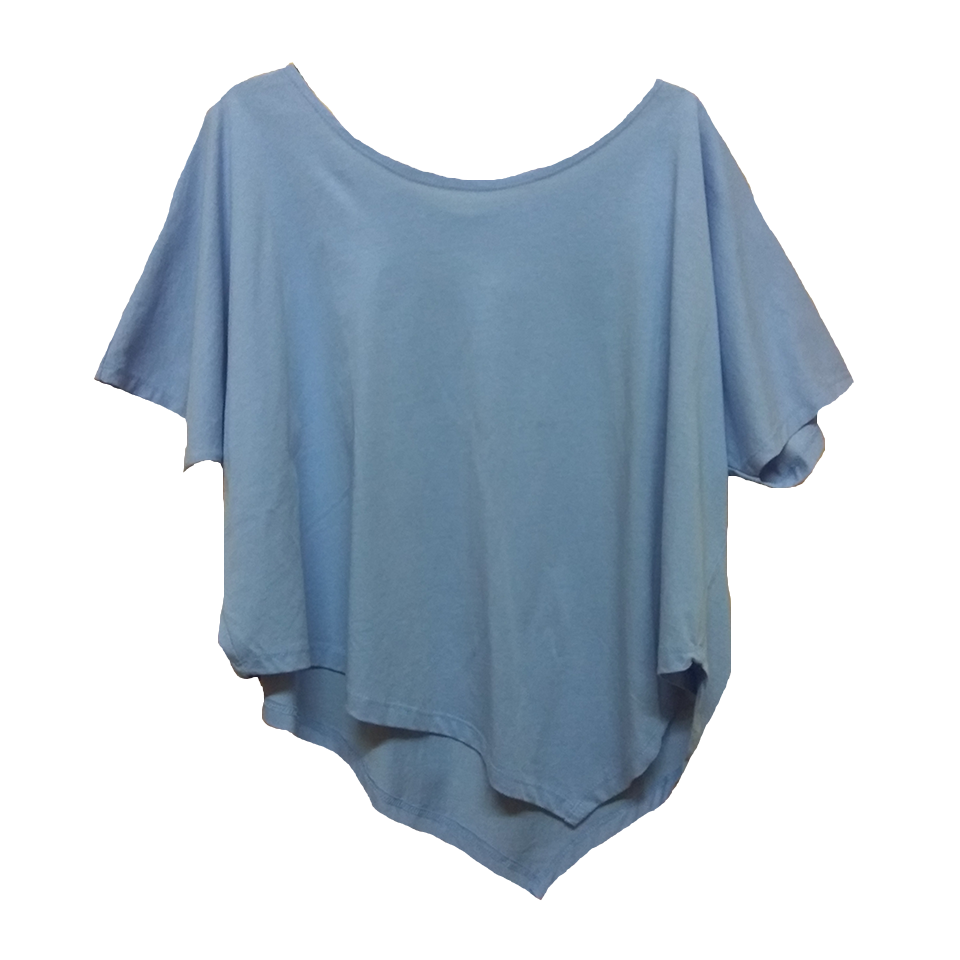 Blouse asymmetrical with nose