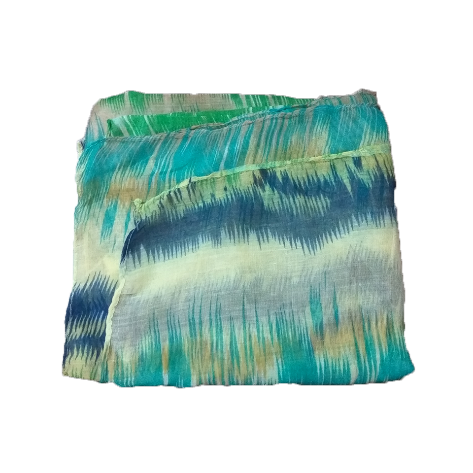 Women's scarf with a color of stone