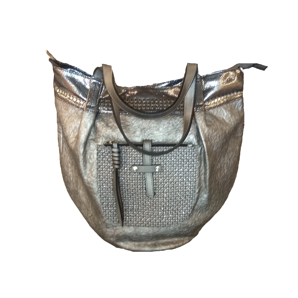 Women's handbag with modern design