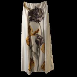 Maxi εντυπωσιακή φούστα με κουφόπιετες