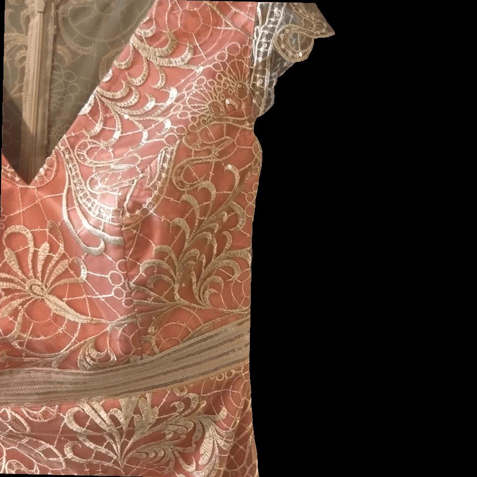 Mini φόρεμα δαντέλα με διαφάνεια στα μανίκια