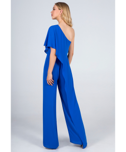 Jumpsuit of muslin with a shoulder