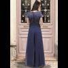 Γυναικεία παντελόνα από μουσελίνα σε άνετη γραμμή