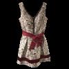 Mini φόρεμα σε Α γραμμή με ζώνη στην μέση