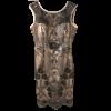 Κοντό φόρεμα σε ίσια γραμμή με παγιέτες