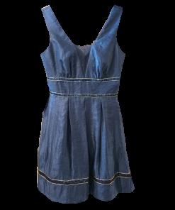 Mini φόρεμα σε Α γραμμή με κουφόπιετες