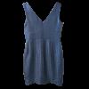 Mini φόρεμα σε ίσια γραμμή με μπορντούρες