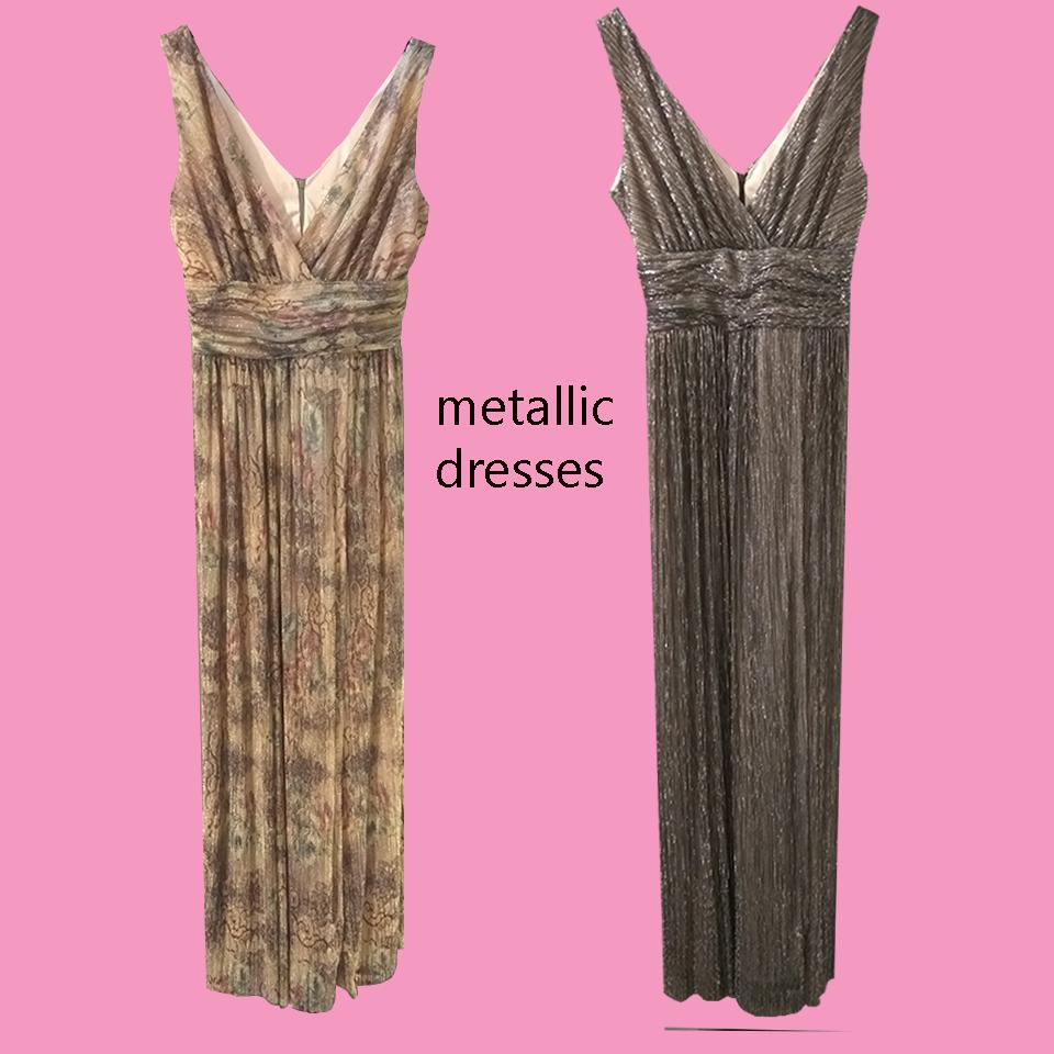 Μεταλλιζέ φορέματα : Η τάση που συνεχίζεται