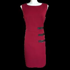 Κοντό φόρεμα με μεταλλικά στοιχεία