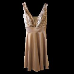 Κοντό φόρεμα κλος με ανοικτή πλάτη