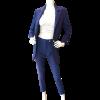 Ψηλόμεσο γυναικείο παντελόνι κάπρι