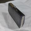 Γυναικείο clutch bag με ασημί περίβλημα