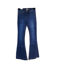 Female jeans pants bell