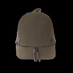 Γυναικείο backpack ταμπά με δύο φερμουάρ