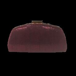 Γυναικείο clutch bag σε χρώμα μπορντώ